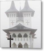 Romanian Church Metal Print