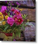 Romantic Bouquet 3 Metal Print