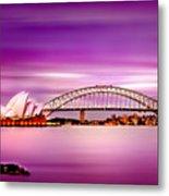 Romantic Harbour  Metal Print