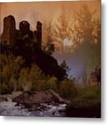 Romantic Landscape  Metal Print