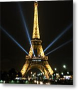Romantic Night In Paris Metal Print