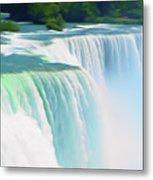 Romantic Skies Niagara Falls 2  Metal Print