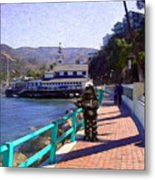 Romantic Stroll Metal Print