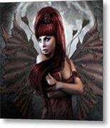 Romantic Vampire's Moon Metal Print