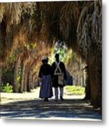 Romantic Walk 1870 Metal Print