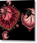 Romantically Jewelled Abstract Metal Print
