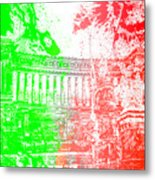 Rome - Altar Of The Fatherland Colorsplash Metal Print
