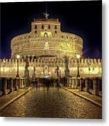 Rome Castel Sant Angelo Metal Print by Joana Kruse