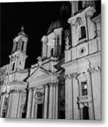 Rome - Piazza Navona - A View 3 Metal Print