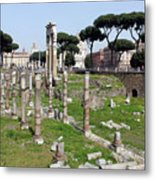 Rome Ruins Metal Print