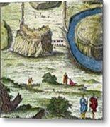 Rome: Seven Hills, 18th C Metal Print