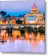 Rome - St Peter  Metal Print