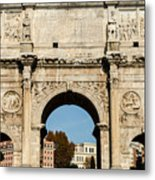 Rome - The Arch Of Constantine 3 Metal Print