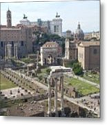 Rome The Old New World Metal Print