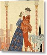 Romeo And Juliette Metal Print