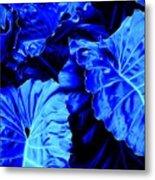 Romney Blue Metal Print
