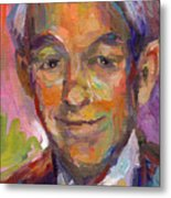 Ron Paul Art Impressionistic Painting  Metal Print