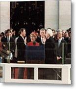 Ronald Reagan Inauguration - 1981 Metal Print