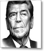 Ronald Reagan Metal Print