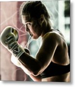 Ronda Rousey Mma Metal Print