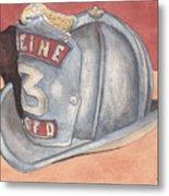 Rondo's Fire Helmet Metal Print