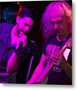Ronnie Romero 25 Metal Print