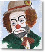 Ronnie The Clown Metal Print