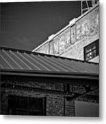 Roof And Brick Metal Print