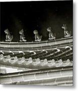Roof National Palace Museum Taiwan City - Taipei  Metal Print