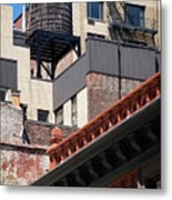 Roofscape Metal Print