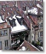 Rooftops Of Berne II Metal Print
