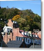 Rooftops Of Harpers Ferry Metal Print