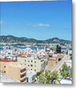 Rooftops Of Ibiza 4 Metal Print