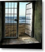 Room For Two And A Ocean Breeze Metal Print