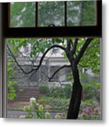 Room With A Rainy View Metal Print