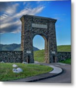 Roosevelt Arch At Yellowstone Dsc2522_05252018 Metal Print