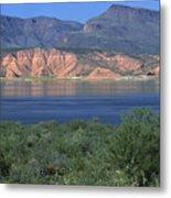Roosevelt Lake - Panoramic Metal Print
