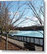 Roosevelt Lake Promenade Metal Print