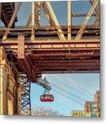 Roosevelt Tram Underneath The 59 St Bridge Metal Print