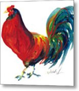 Rooster - Little Napoleon Metal Print