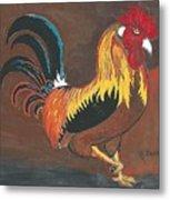 Rooster#1 Metal Print