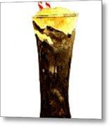 Root Beer Float Metal Print