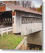 Root Rd Covered Bridge  Metal Print
