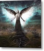 Rooted Angel Metal Print