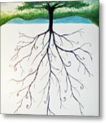 Roots Of A Tree Metal Print