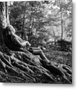 Roots Of Contemplation Metal Print