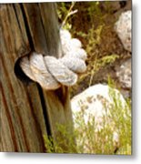 Rope In A Post Metal Print