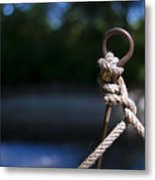 Rope Knot Metal Print by Stefano Piccini