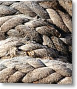 Ropes. Metal Print