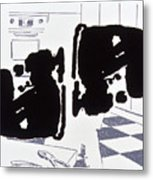 Rorschach 2 Mother In Law Metal Print
